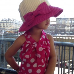 Here's our favorite look for Jellybean which she wore in Paris in June.