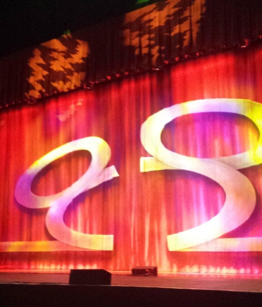 The stage of Kia Theatre