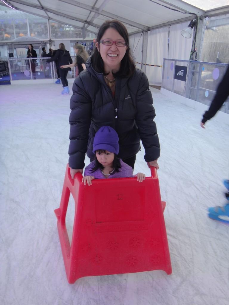 Aoetea Ice Rink Skate Frame