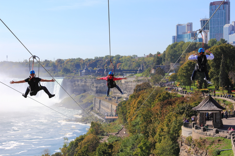 Interesting Travel: Zipline above the Niagara Falls