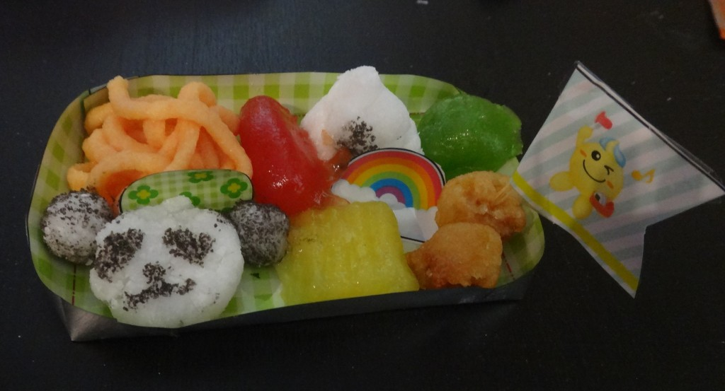 The finished product: Popin' Cookin' Bento Box