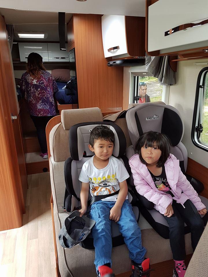Kids in a Motorhome