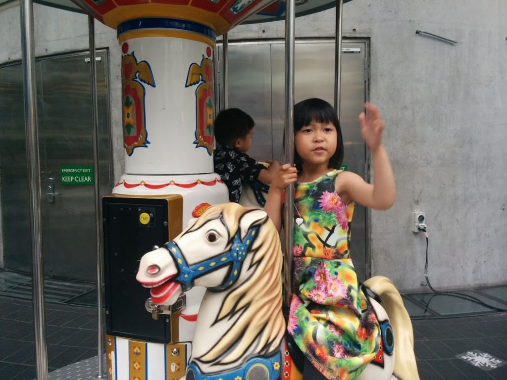A carousel for kids